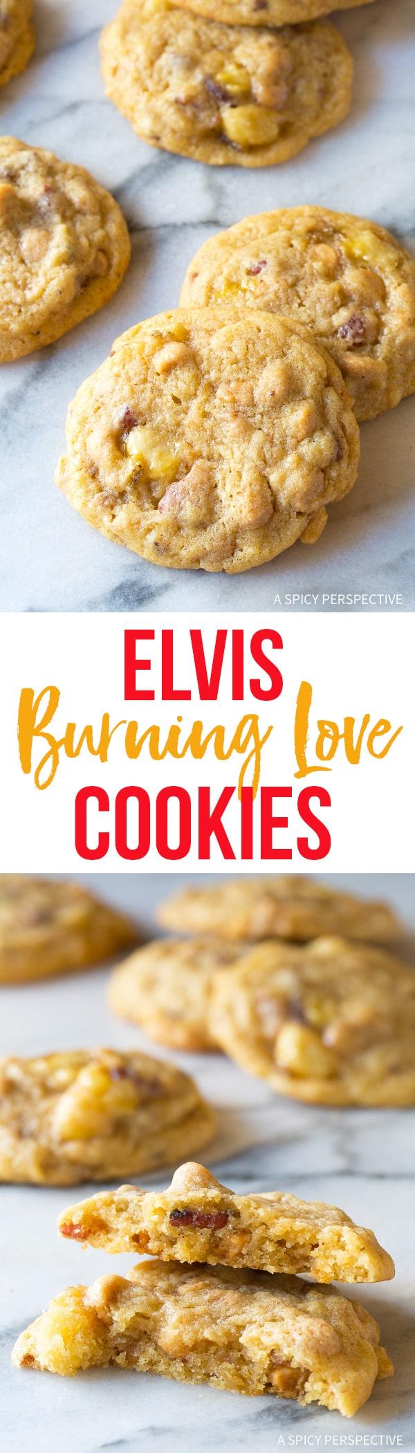 """Epic! Elvis """"Burning Love"""" Cookies Recipe"""