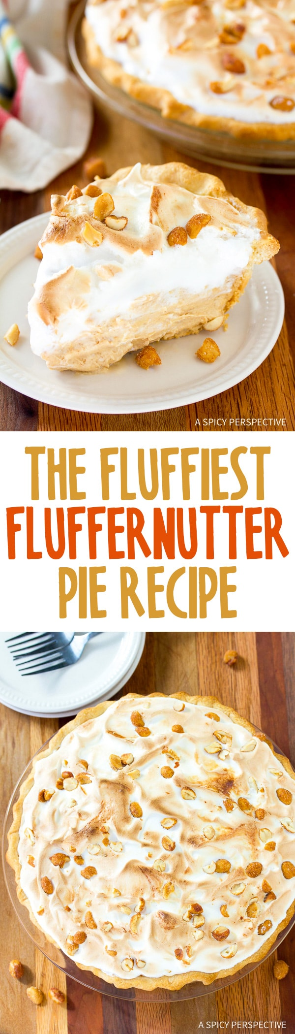 Awesome! The Fluffiest Fluffernutter Pie Recipe