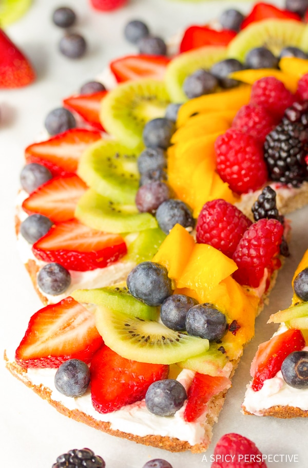 Awesome Gluten Free Vegan Fruit Pizza Recipe
