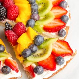 Best Gluten Free Vegan Fruit Pizza Recipe