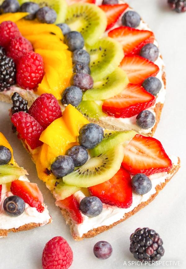 Best Gluten Free Vegan Fruit Pizza Recipe