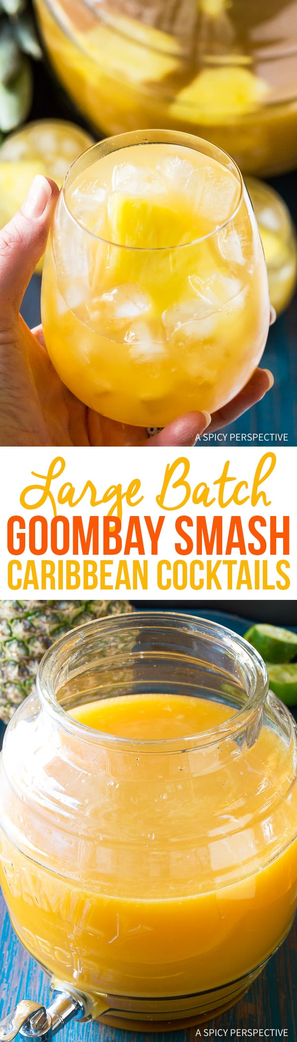 Perky Large-Batch Goombay Smash Caribbean Cocktails Recipe