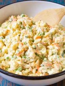 Hawaiian Style Potato Macaroni Salad Recipe