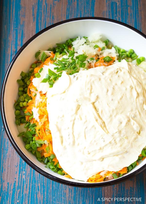 Perfect Hawaiian Style Potato Macaroni Salad Recipe