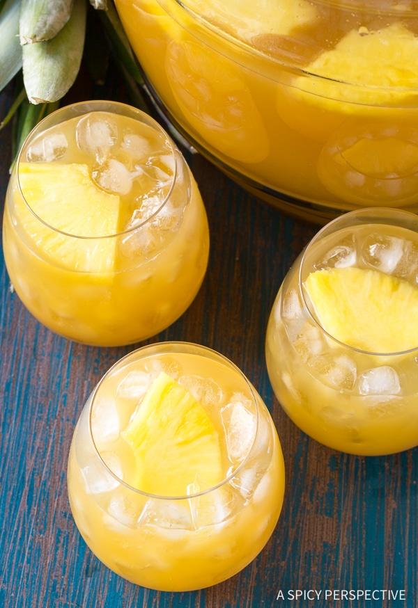 Festive Large-Batch Goombay Smash Caribbean Cocktails Recipe