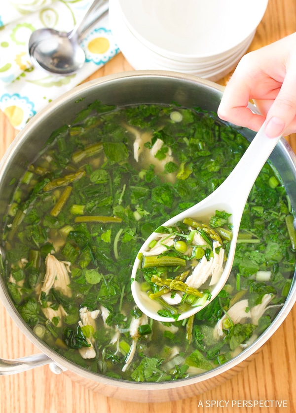 Lean Green Chicken Soup A Spicy Perspective