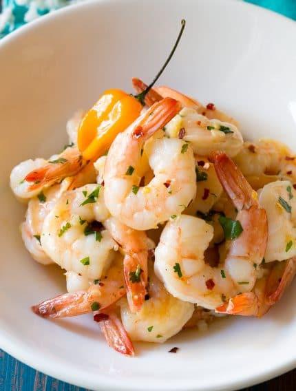 Yucatán Garlic Butter Shrimp Recipe