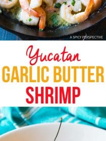 Zesty Yucatán Garlic Butter Shrimp Recipe