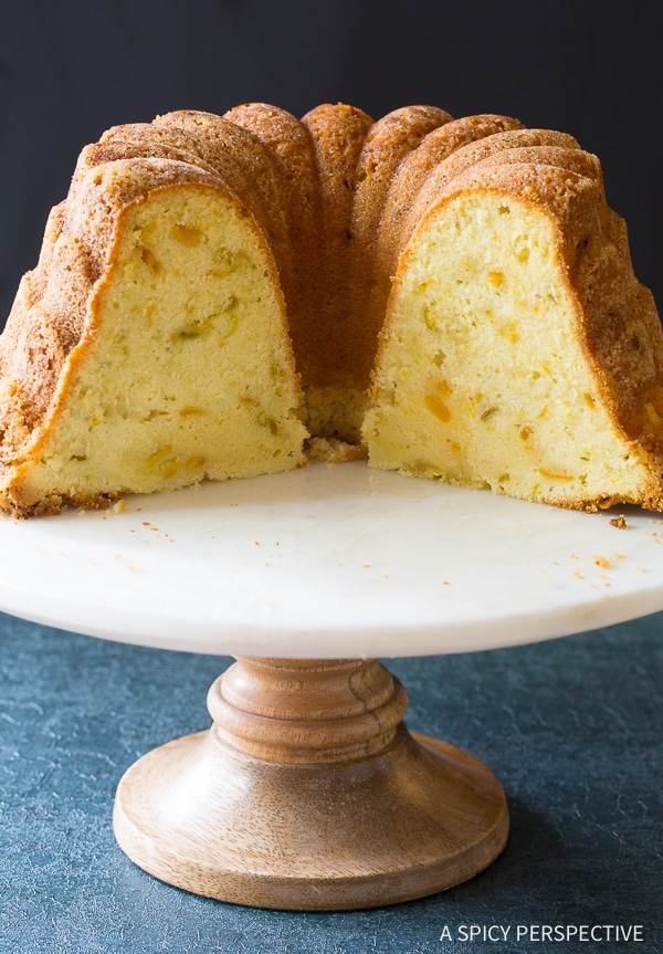 peach pound cake green chile pound cake a spicy perspective 6405