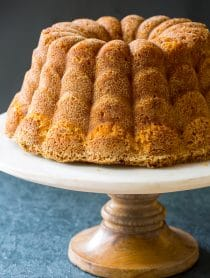 Green Chile Peach Pound Cake Recipe