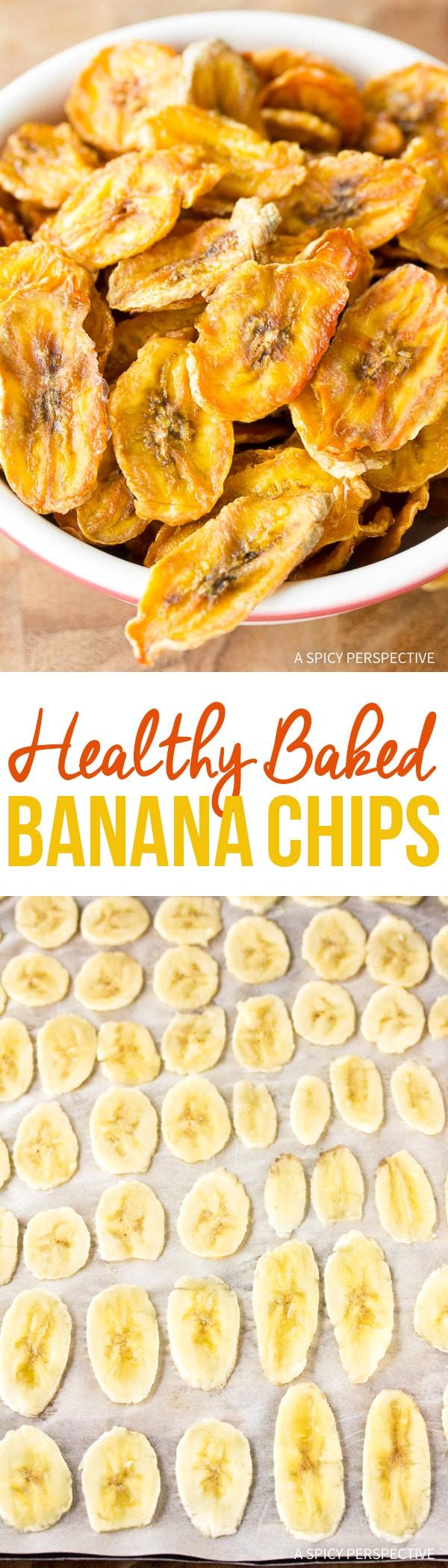Best Healthy Baked Banana Chips Recipe