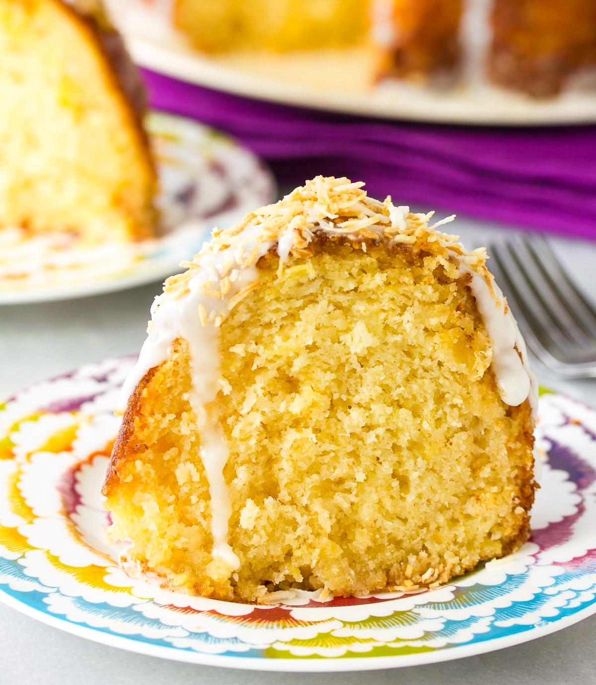Caribbean Spiced Rum Cake Recipe