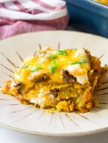 Cool Ranch Taco Lasagna