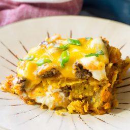Cool Ranch Taco Lasagna