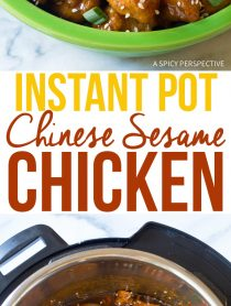 Perfect Instant Pot Chinese Sesame Chicken Recipe
