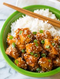 Instant Pot Chinese Sesame Chicken Recipe