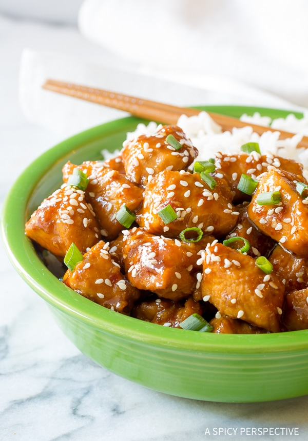 Simple Instant Pot Chinese Sesame Chicken Recipe