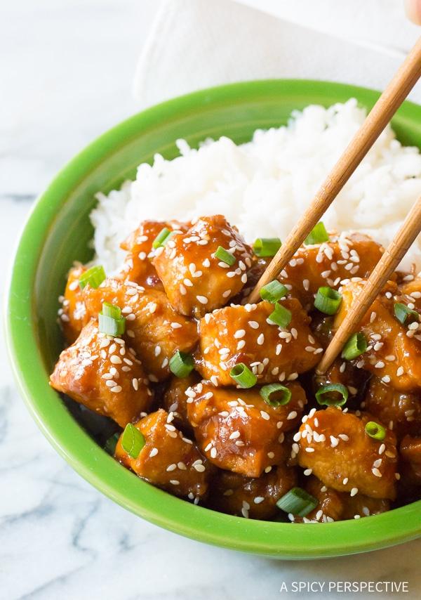 Best Instant Pot Chinese Sesame Chicken Recipe