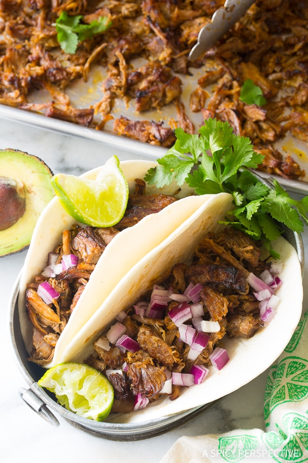 Zesty Instant Pot Perfect Carnitas - Paleo, Low Carb, and Gluten Free Pressure Cooker Pork!