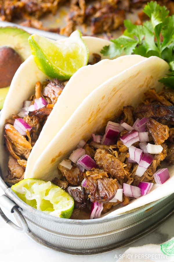 Our Instant Pot Perfect Carnitas - Paleo, Low Carb, and Gluten Free Pressure Cooker Pork!