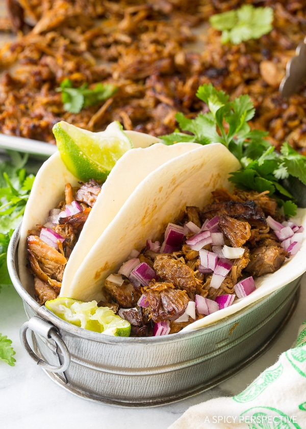 Instant Pot Perfect Carnitas - Paleo, Low Carb, and Gluten Free Pressure Cooker Pork!