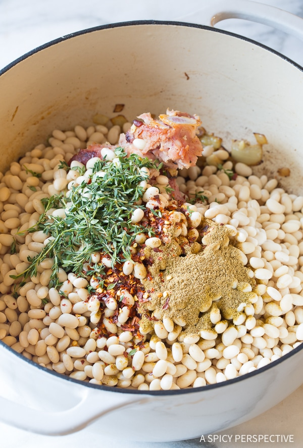 How to Make Nana's Epic Navy Bean Ham Bone Soup Recipe