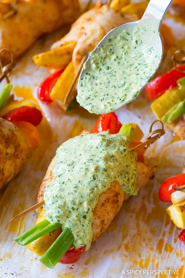 Vibrant Peruvian Baked Chicken and Vegetable Roll Ups Recipe