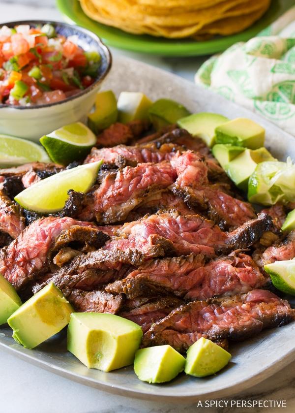 Best Quick-Seared Carne Asada Recipe (Low Carb!)