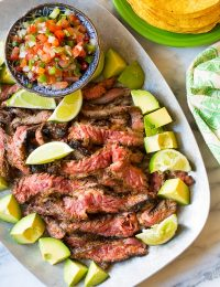 Quick-Seared Carne Asada Recipe (Low Carb!)