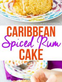 Best Caribbean Spiced Rum Cake Recipe
