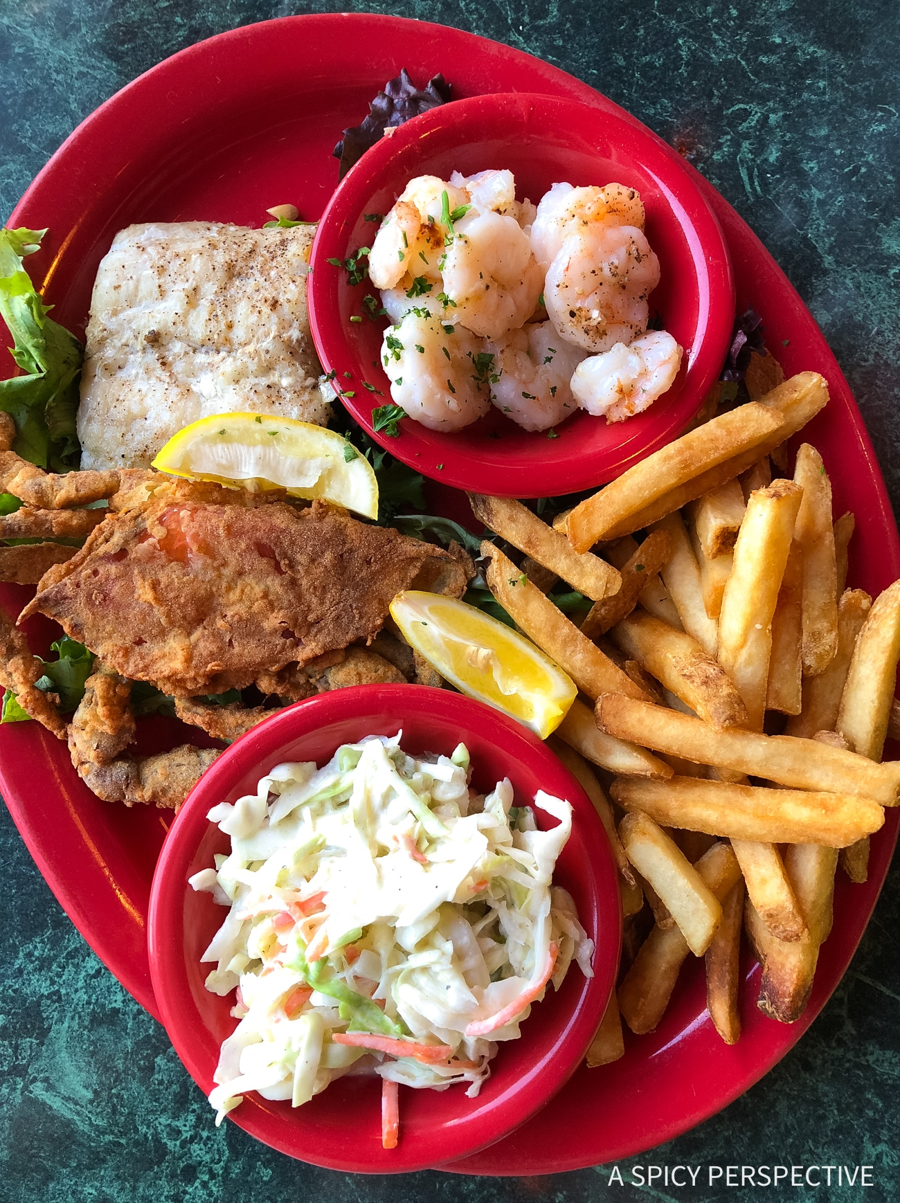 Seafood Platter - Why You Should Visit The Crystal Coast Outer Banks NC (Emerald Isle Vacation Travel Tips!)