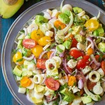 Best Brazilian Chopped Salad Recipe