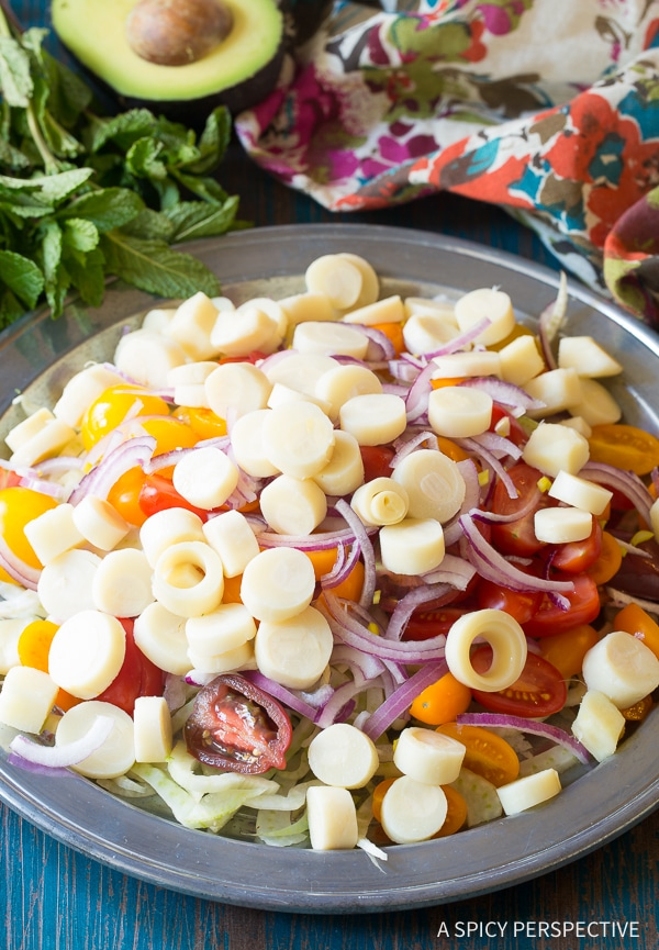 How To: Brazilian Chopped Salad Recipe