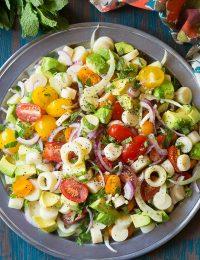 Crunchy Brazilian Chopped Salad Recipe