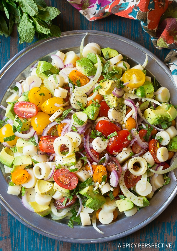 Brazilian Chopped Salad A Spicy Perspective