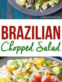 Healthy Brazilian Chopped Salad Recipe