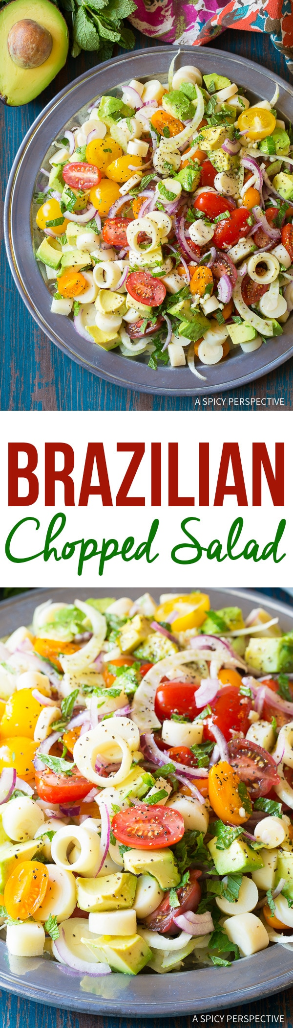 Healthy Brazilian Chopped Salad Recipe