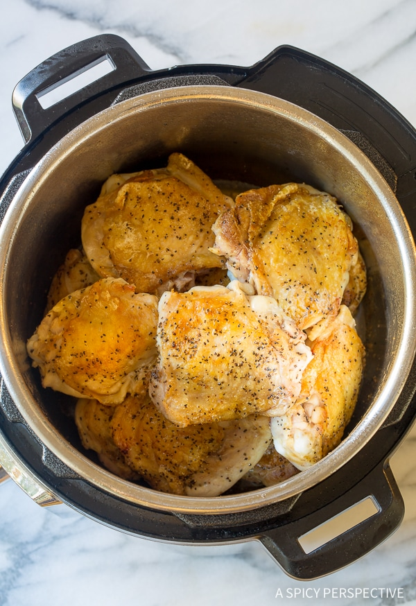 How To: Instant Pot Sweet Soy Chicken Thighs (Pressure Cooker Recipe)