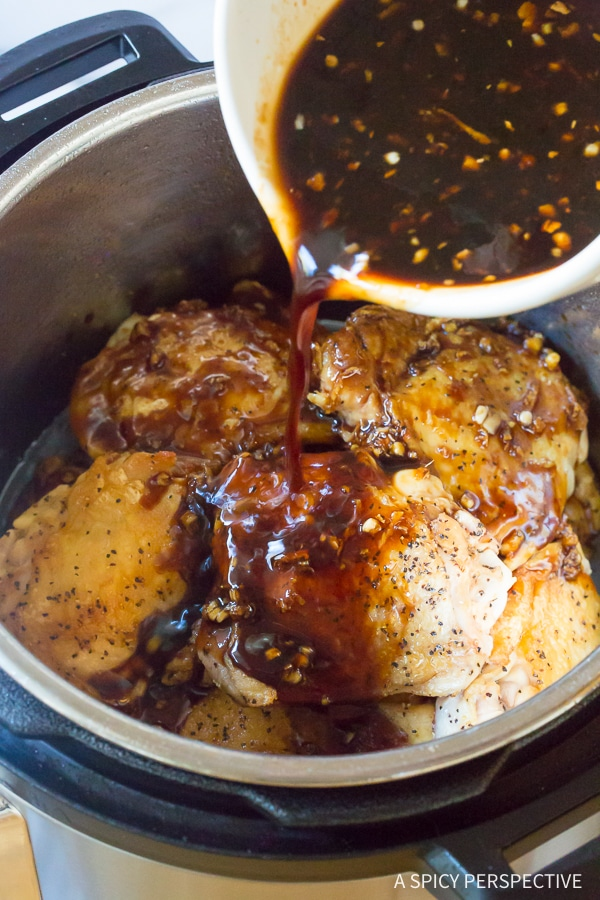 How to Make Instant Pot Sweet Soy Chicken Thighs (Pressure Cooker Recipe)