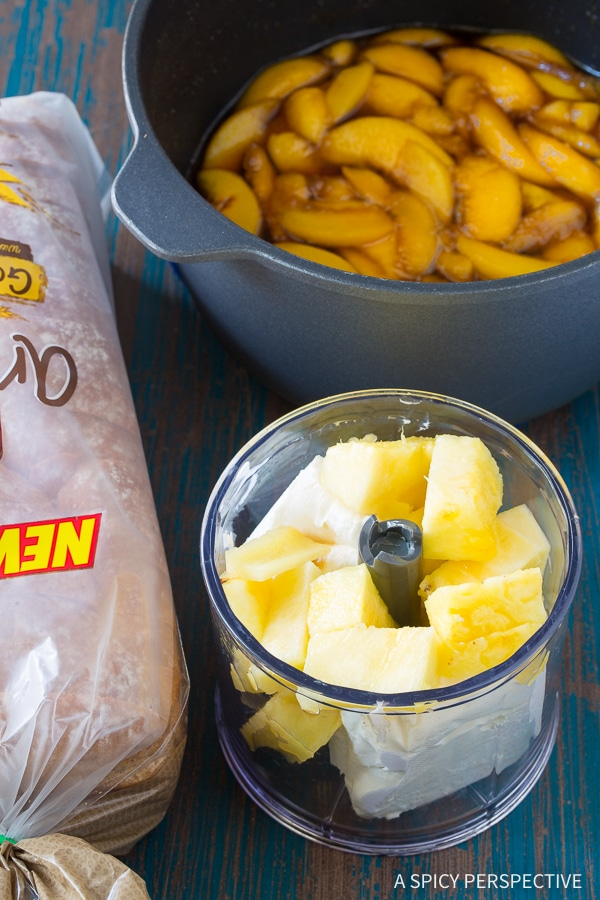 How To: Peach Pina Colada Stuffed French Toast Recipe
