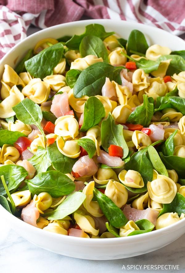 How to Make Pesto Chicken Baked Tortellini Recipe
