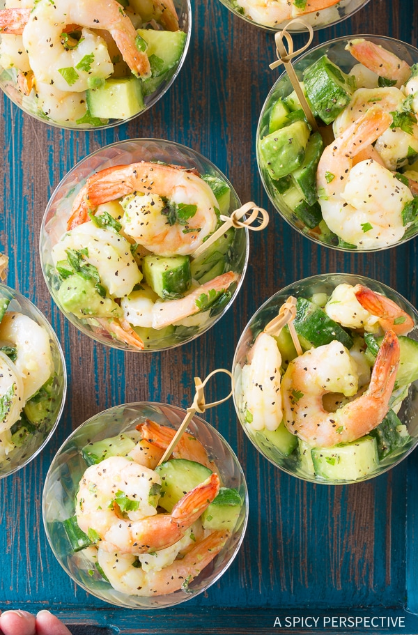 Garlic Lime Roasted Shrimp Salad Video A Spicy Perspective