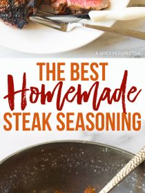 The Best Homemade Steak Seasoning Recipe (Simple Steak Rub!)