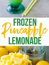 Frosty Frozen Pineapple Lemonade Recipe
