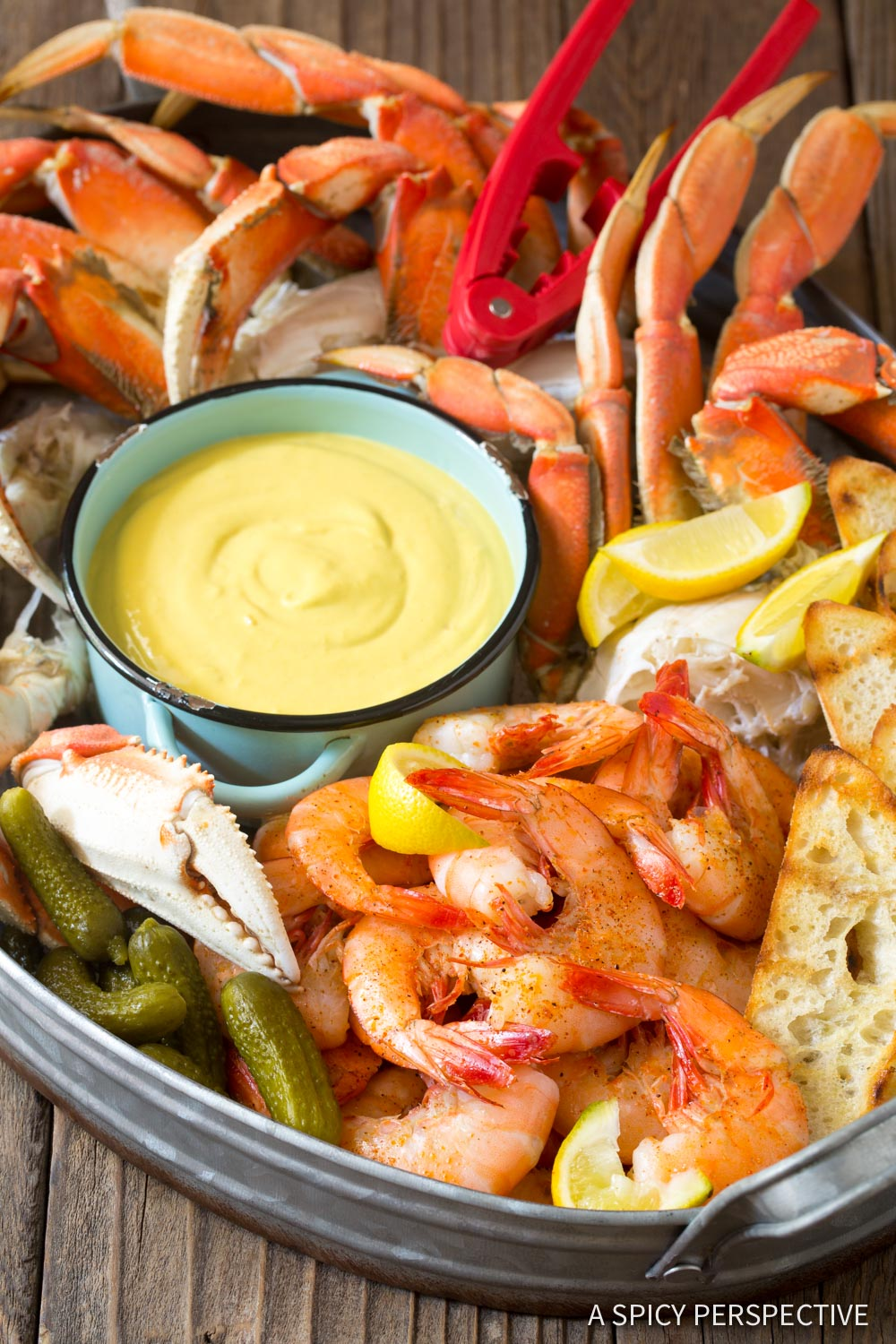 Best Spicy Mustard Seafood Sauce