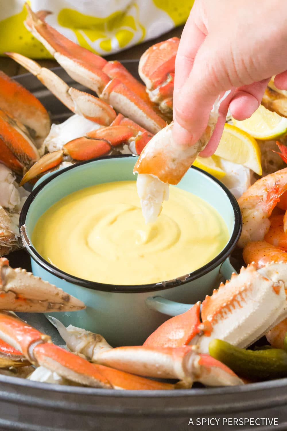Spicy Mustard Seafood Sauce - A Spicy Perspective