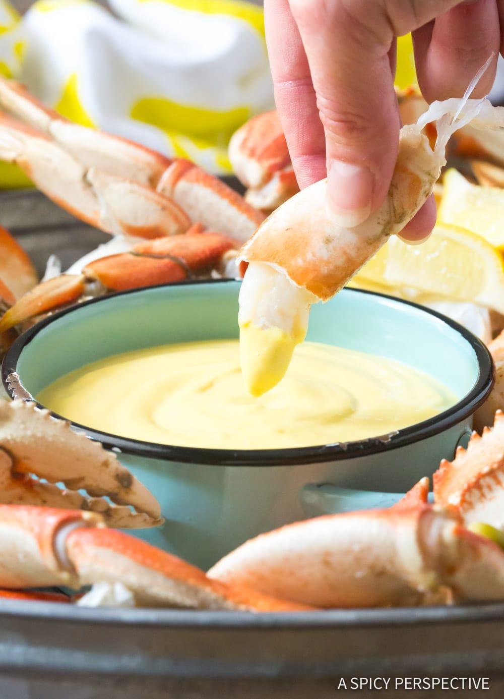Easy Spicy Mustard Seafood Sauce #GlutenFree #DairyFree #Ketogenic