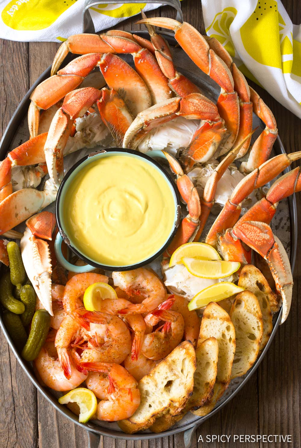 Spicy Mustard Seafood Sauce