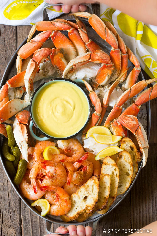 Perfect Spicy Mustard Seafood Sauce #GlutenFree #DairyFree #Ketogenic