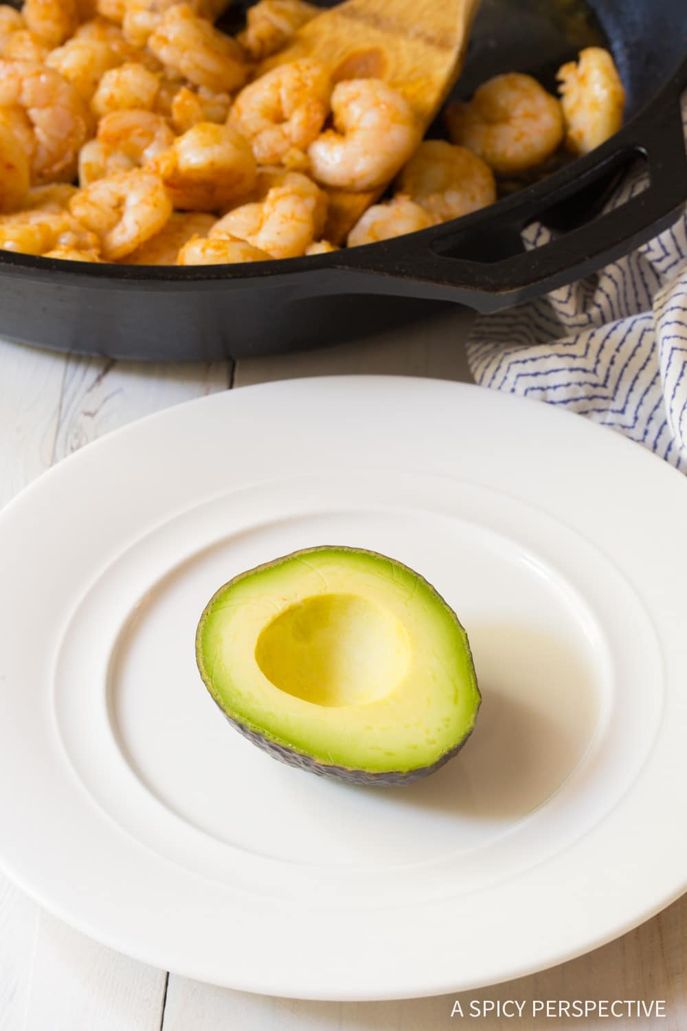 How to Make 6-Ingredient Keto Creole Shrimp Stuffed Avocado Recipe #ASpicyPerspective #ketogenic